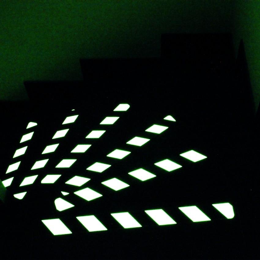 Bandes antid rapantes photoluminescentes antid rapant adh sif industriel - Bande adhesive antiderapante ...