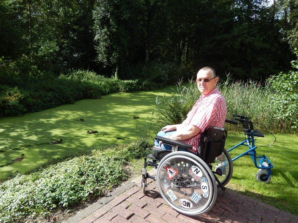 Personne handicapee