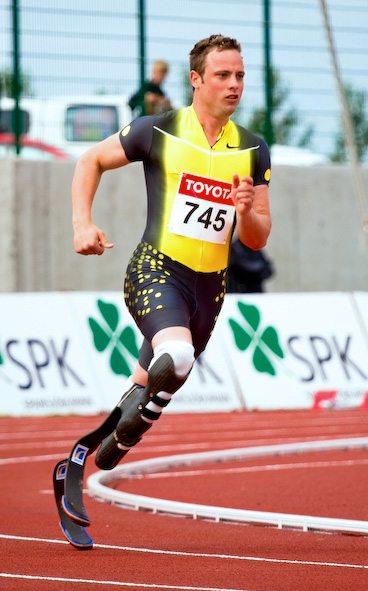 Un sportif handicapé
