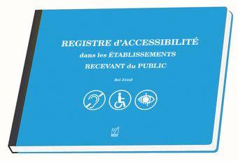 Handicap : les ERPs doivent disposer d'un registre public d'accessibilité