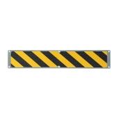 Nez de marche antid rapant de signalisation en aluminium - Plaque aluminium antiderapante ...