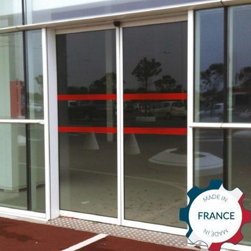 Signalisation pour porte vitr e for Porte vitree standard